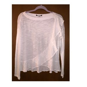 White long sleeve Ohhhhh so fab top!